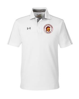 Item LAS-FB-505-2 - Under Armour Tech Polo - Lassiter Trojan Logo