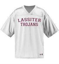 Load image into Gallery viewer, Item LAS-FB-511-10 - Augusta Stadium Replica Jersey - Lassiter Football Jersey Logos