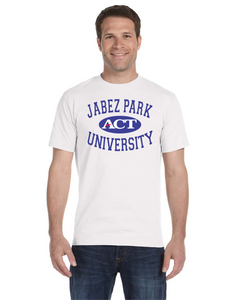 Item Special 001 - JABEZ PARK UNIVERSITY White Tee