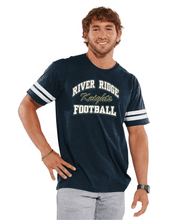Load image into Gallery viewer, Item RR-FB-605-8 - LAT Vintage Football Fine Jersey T-Shirt - RR ARCH Football Logo