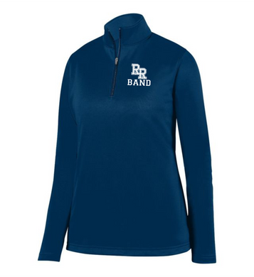 Item RR-BND-101-3 - Augusta 1/4 Zip Wicking Fleece Pullover - RR  Band Logo