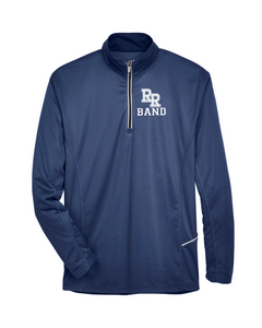 Item RR-BND-107-3 - UltraClub Cool & Dry Sport Quarter-Zip Pullover - RR Band Logo