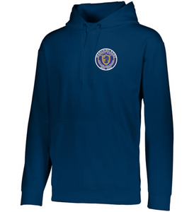 Item RR-BND-301-2 - Augusta Wicking Fleece Hooded Sweatshirt - RR Marching Band Logo