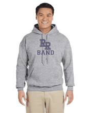 Load image into Gallery viewer, Item RR-BND-303-3 - Gildan-Hoodie - RR Band Logo