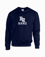 Load image into Gallery viewer, Item RR-BND-304-3 - Gildan Adult 8 oz., 50/50 Fleece Crew - RR Band Logo