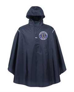 Item RR-BND-460-2 - Team 365 Adult Zone Protect Packable Poncho - RR Marching Band Logo