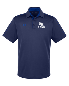 Item RR-BND-505-3 - Under Armour Tech Polo - RR Band Logo