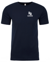 Load image into Gallery viewer, Item RR-BND-526-3 - Next Level Sueded Crewneck T-Shirt - RR Band Logo