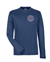 Load image into Gallery viewer, Item RR-BND-608-1 - Team 365 Zone Performance Long-Sleeve T-Shirt - River Ridge Bands Logo