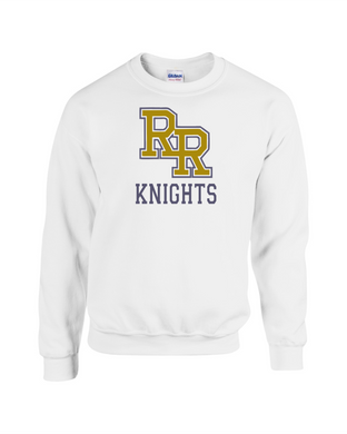 Item RR-FB-304-2 - Gildan Adult 8 oz., 50/50 Fleece Crew - RR KNIGHTS Logo