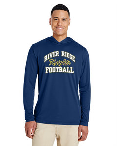 Item RR-FB-349-8 - Team 365 Zone Performance Hoodie - RR ARCH Football Logo