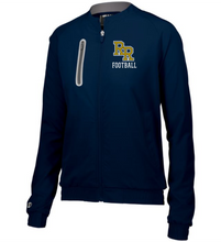 Load image into Gallery viewer, Item RR-FB-406-1 - Holloway Ladies Weld Jacket - RR Football Logo