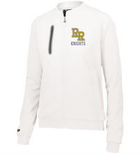 Load image into Gallery viewer, Item RR-FB-406-2 - Holloway Ladies Weld Jacket - RR KNIGHTS Logo