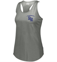 Load image into Gallery viewer, Item RR-FB-521-9 - Augusta Ladies Lux Tri-Blend Tank - Laces & KNIGHTS Back Logo