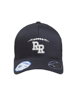 Item RR-FB-903-9 - Flexfit Adult Cool and Dry Tricot Cap - RR FB Laces Logo