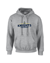 Load image into Gallery viewer, Item RR-LAX-303-11 - Gildan-Hoodie - KNIGHTS Archs Logo