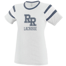 Load image into Gallery viewer, Item RR-LAX-641-1 - Augusta Ladies Fanatic Tee - RR Lacrosse Logo