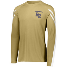 Load image into Gallery viewer, Item RR-FB-535-9 - Holloway Flux Shirt Long Sleeve -  RR Football  Laces Logo