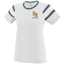 Load image into Gallery viewer, Item RR-FB-509-1 - Augusta Ladies Short Sleeve Fanatic Tee - RR Football Logo
