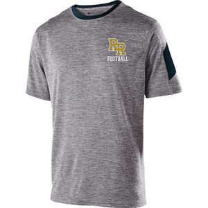 Item RR-FB-540-1 - Holloway Electron Short Sleeve Shirt -  RR Football Logo