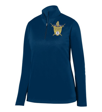 Item RR-SOC-101-1- Augusta 1/4 Zip Wicking Fleece Pullover-RR Lady Knights Soccer Logo