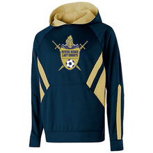 Load image into Gallery viewer, Item RR-SOC-310-1 - Holloway Argon Hoodie - River Ridge Lady KNIGHTS Soccer Logo