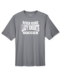 Item RR-SOC-605-2 - Team 365 Zone Performance Short Sleeve T-Shirt - RR KNIGHTS Soccer Logo