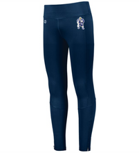 Load image into Gallery viewer, Item RR-WW-707B Holloway Ladies High Rise Tech Tights - RR Wrestle Man Logo