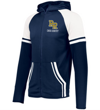 Load image into Gallery viewer, Item RR-XC-412-2 - Holloway Retro Grade Jacket - RR Cross Country Logo