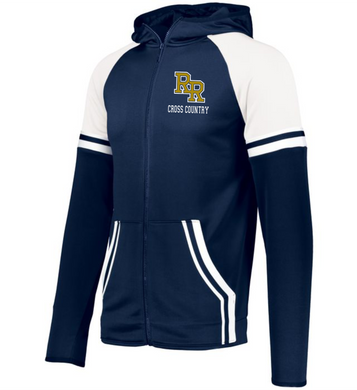 Item RR-XC-412-2 - Holloway Retro Grade Jacket - RR Cross Country Logo