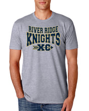Load image into Gallery viewer, Item RR-XC-545-1 - Next Level CVC Crew - River Ridge KNIGHTS XC Logos