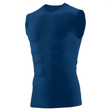 Load image into Gallery viewer, Item RR-XC-732 Augusta HYPERFORM SLEEVELESS COMPRESSION SHIRT