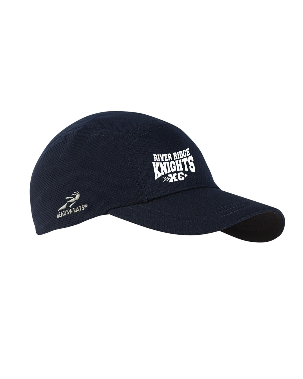 Item RR-XC-906-1 - Headsweats Adult Race Hat - River Ridge KNIGHTS XC Logo