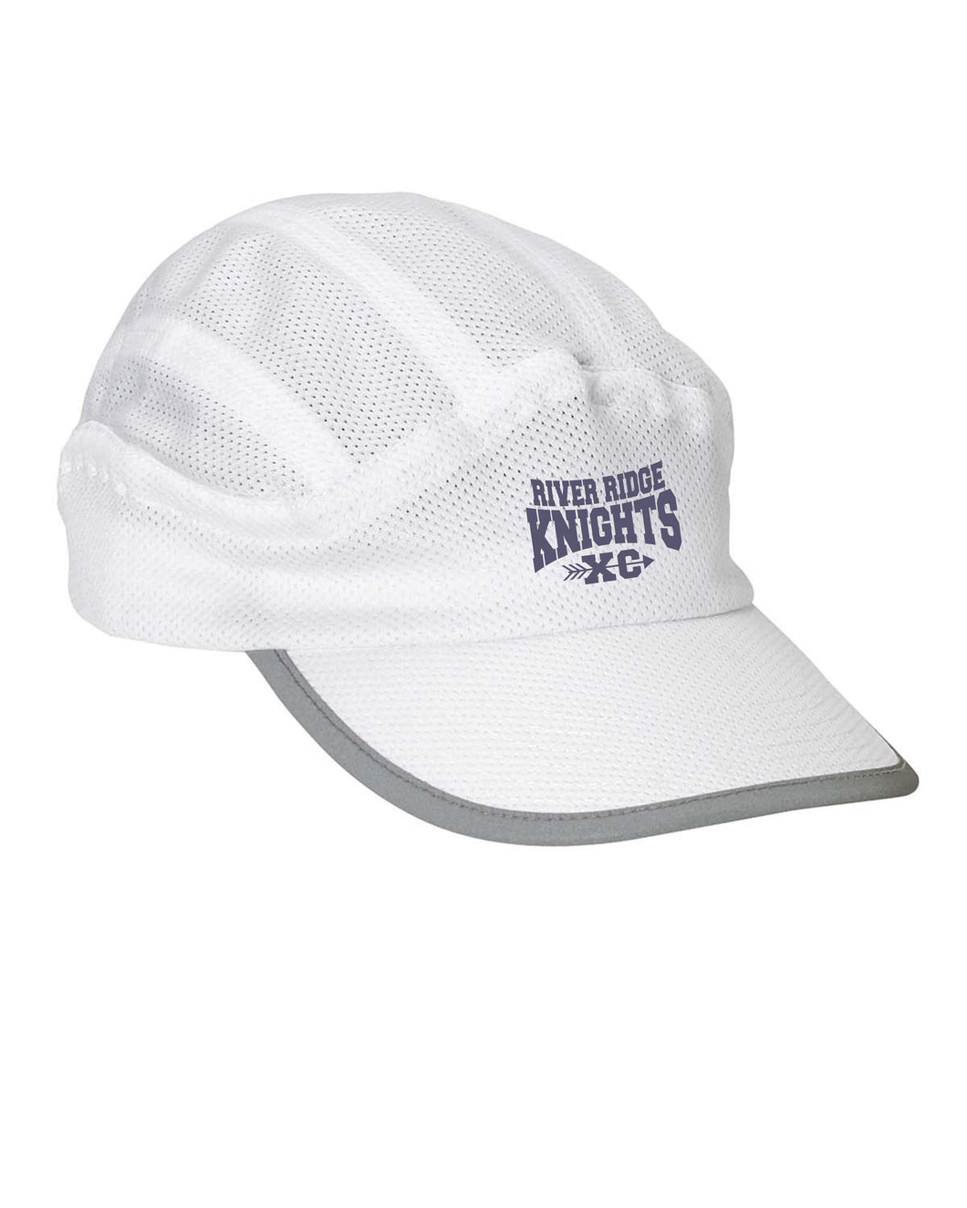Item RR-XC-907-1 - Big Accessories Mesh Runner Cap - River Ridge KNIGHTS XC Logo