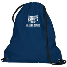 Load image into Gallery viewer, Item RR-XC-951-1 - Augusta Cinch Bag - River Ridge KNIGHTS XC Logo