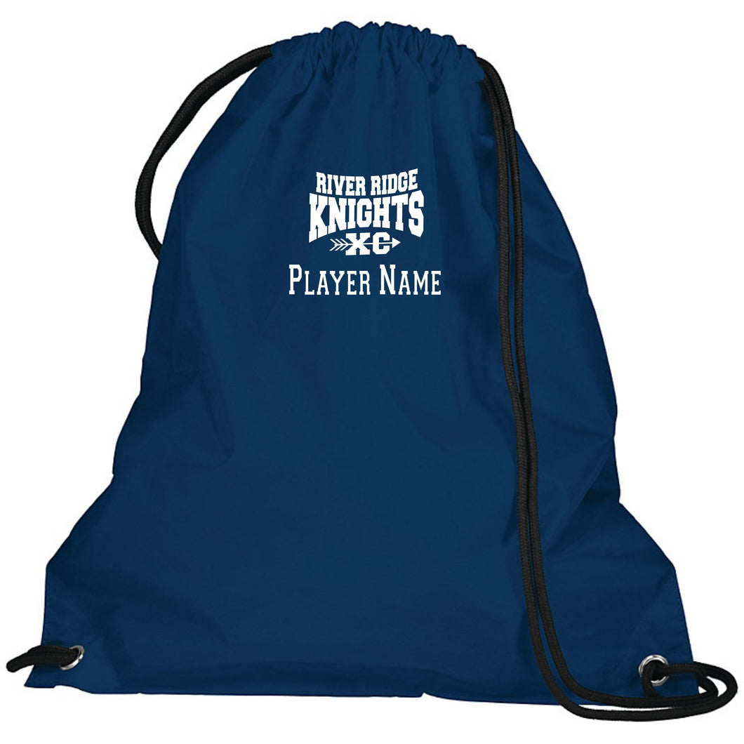 Item RR-XC-951-1 - Augusta Cinch Bag - River Ridge KNIGHTS XC Logo