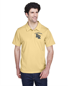Item RR-FB-603-9 - Team 365 Command Snag Protection Polo - RR FB Laces Logo