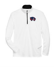 Load image into Gallery viewer, Item WW-FB-107-1 - UltraClub Cool & Dry Sport Quarter-Zip Pullover - WW Wolverine Logo