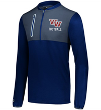 Load image into Gallery viewer, Item WW-FB-405-2 - Holloway Weld Hybrid Pullover  - WW Football Logo