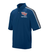 Load image into Gallery viewer, Item WW-FB-418-2 - Augusta Quantum Short Sleeve Pullover - WW Football Logo