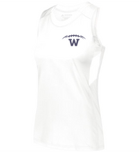 Load image into Gallery viewer, Item WW-FB-522-9 - Augusta Ladies Crossover Tank - Laces & Wolverine Back Logo