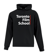 Load image into Gallery viewer, TFS STACKED BLACK ATC™ EVERYDAY FLEECE HOODIE