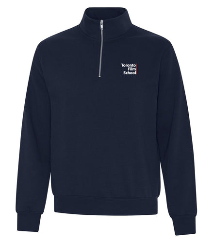 TFS DARK NAVY BLUE ATC™ EEVERYDAY FLEECE 1/4 ZIP SWEATSHIRT