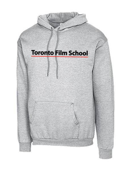 TFS GREY HEATHER CLIQUE BASICS FLC P/O HOODIE
