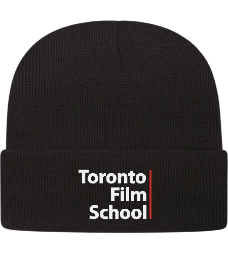 TFS BLACK TOQUE WITH CUFF