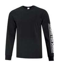 Load image into Gallery viewer, TFS BLACK ATC™ EVERYDAY COTTON LONG SLEEVE TEE
