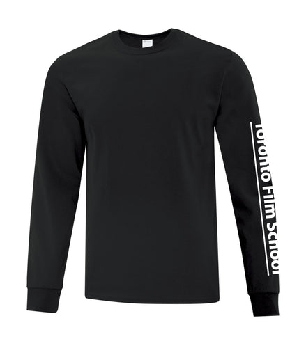 TFS BLACK ATC™ EVERYDAY COTTON LONG SLEEVE TEE