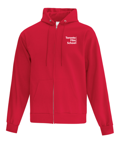 TFS RED ATC™ EVERYDAY FLEECE FULL ZIP HOODED SWEATSHIRT
