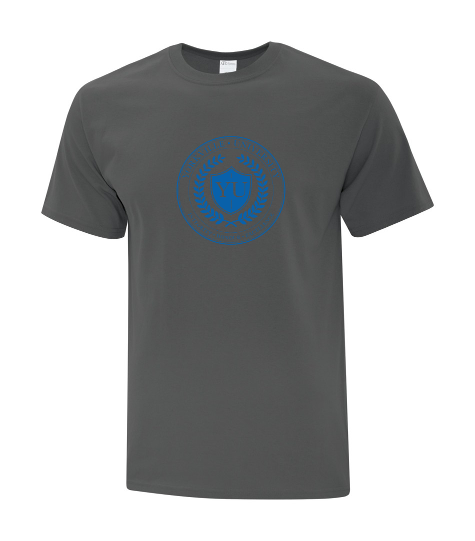 LIMITED EDITION YU CHARCOAL ATC  COTTON T-SHIRT