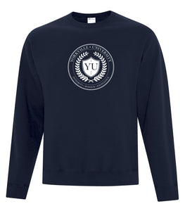 YU DARK NAVY ATC™ EVERYDAY FLEECE CREWNECK SWEATSHIRT